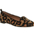 Office Kwik Step Slipper Leopard Pony Effect - Flats