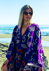 scarf,poncho,shawl,handmade,india,boho,chic,bohemian,beach,purple