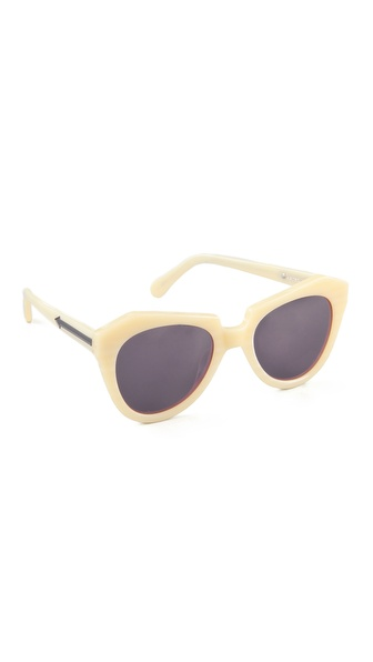 Karen Walker Number One Sunglasses | SHOPBOP