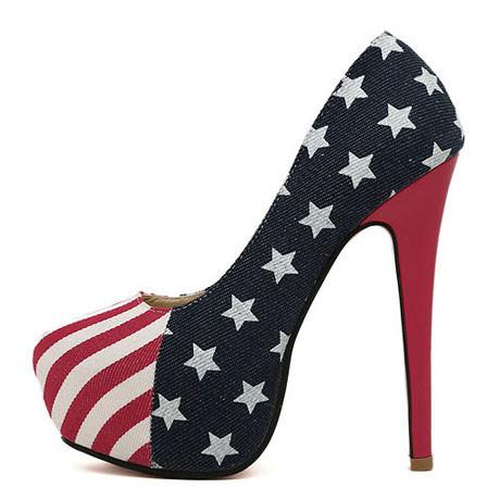 Old glory heels