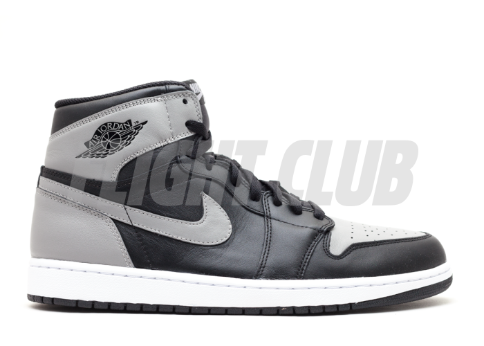 "air jordan 1 retro high og ""shadow"" - black/soft grey - Air Jordan 1 - Air Jordans  