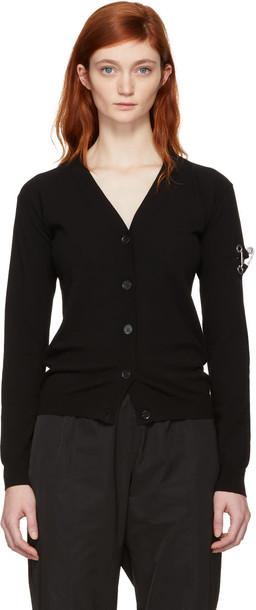 Versus cardigan cardigan black sweater