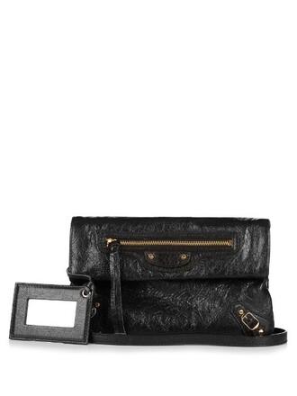 leather clutch mini classic clutch leather black bag