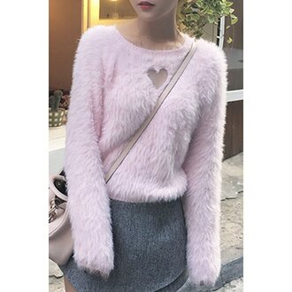 sweater pastel knitwear style warm rose wholesale