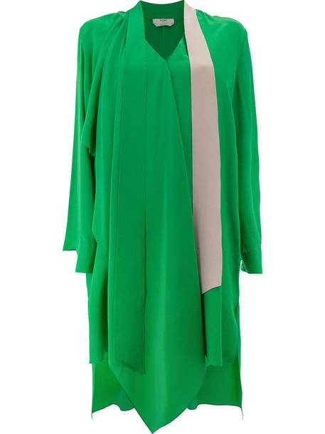 dress bow dress bow women plastic silk green
