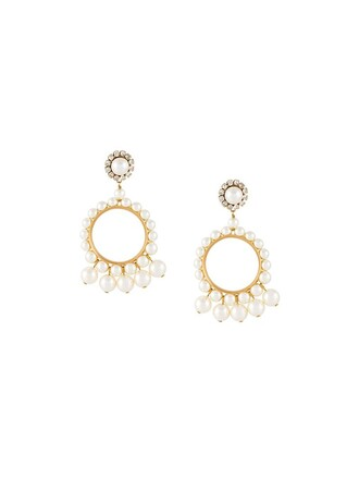 pearl earrings hoop earrings white jewels