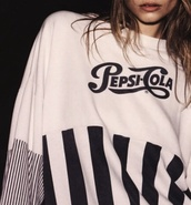 pepsi,cola,pepsi cola,sweater,sexy sweater