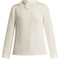 Eden silk-crepe blouse