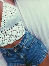 top,fashion,hipe,style,hippie,boho,vintage,shorts
