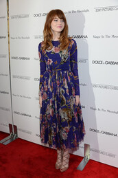 dress,shoes,emma stone,floral maxi dress