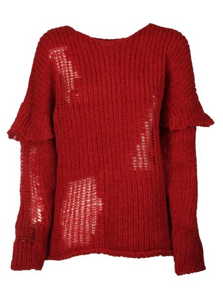 sweater layered