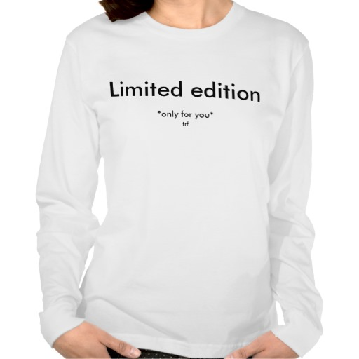 Limited Edition Only For You Jersey Sweater