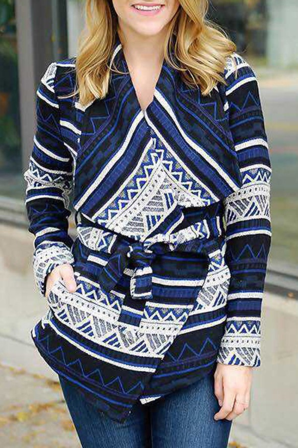 6997d09793dc4 coat, geometric, aztec, tribal pattern, trendy, winter outfits ...