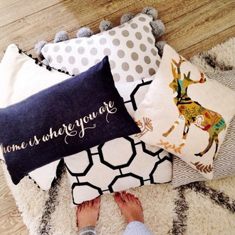 home accessory tumblr holiday home decor holiday season pillow quote on it home decor