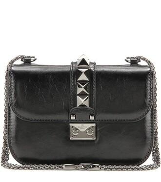 noir bag shoulder bag leather black