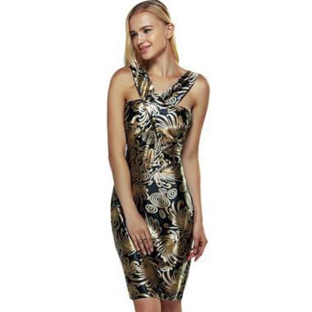 dress boho dress