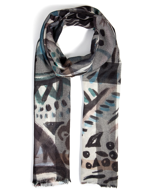Burberry Shoes & Accessories - Printed Cashmere Scarf