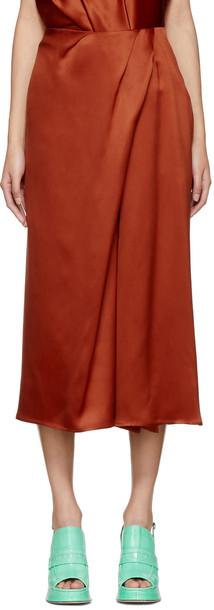 SIES MARJAN skirt orange