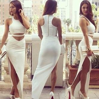 bag white dress