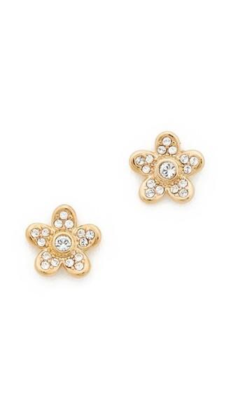 flower stud earrings earrings stud earrings gold jewels