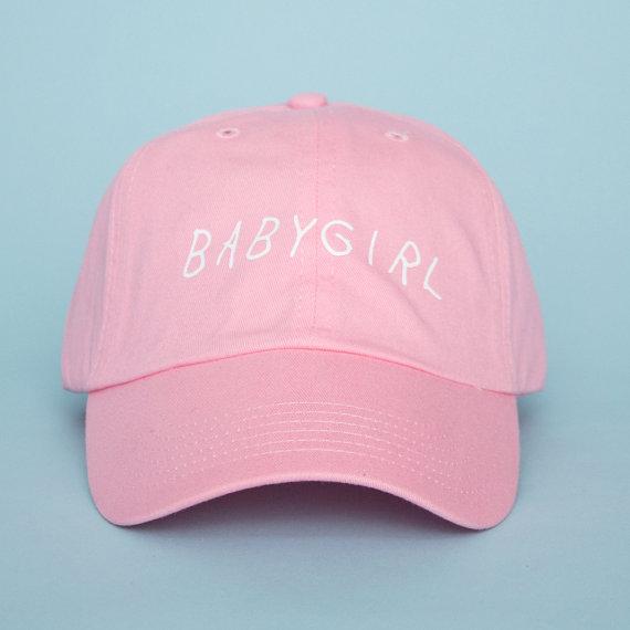 46f2e6c16d2 Babygirl Hat - Pink