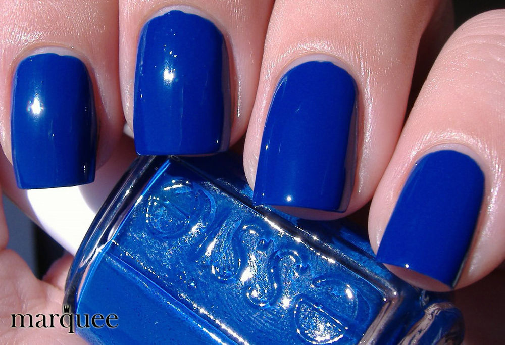 Essie Nail Polish E679 Mezmerize New Royal Blue Color | eBay
