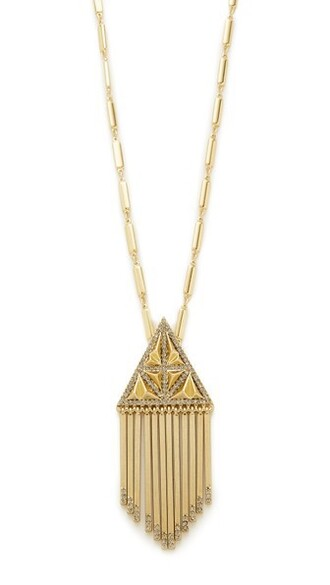 necklace pendant gold jewels