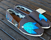 View Dream Catcher Shoes by BStreetShoes on Etsy