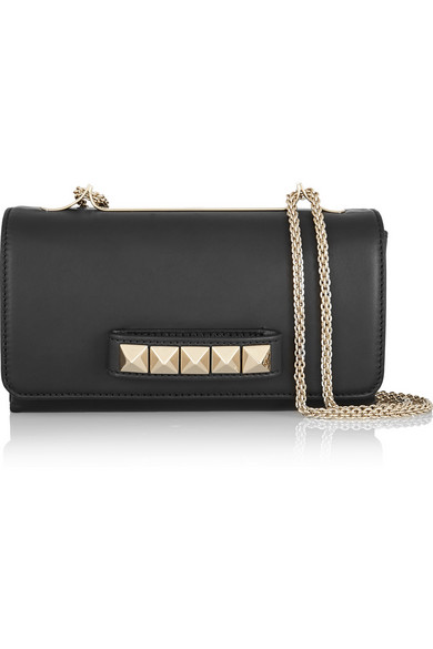Valentino | Va Va Voom leather shoulder bag | NET-A-PORTER.COM
