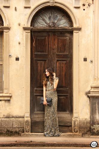 fashion coolture blogger glitter dress prom dress