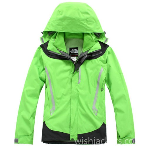 North Face Canada Winter Jacket Cyan Green Womens Bj130240