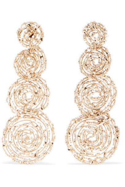 Rosantica pearl earrings pearl earrings gold jewels