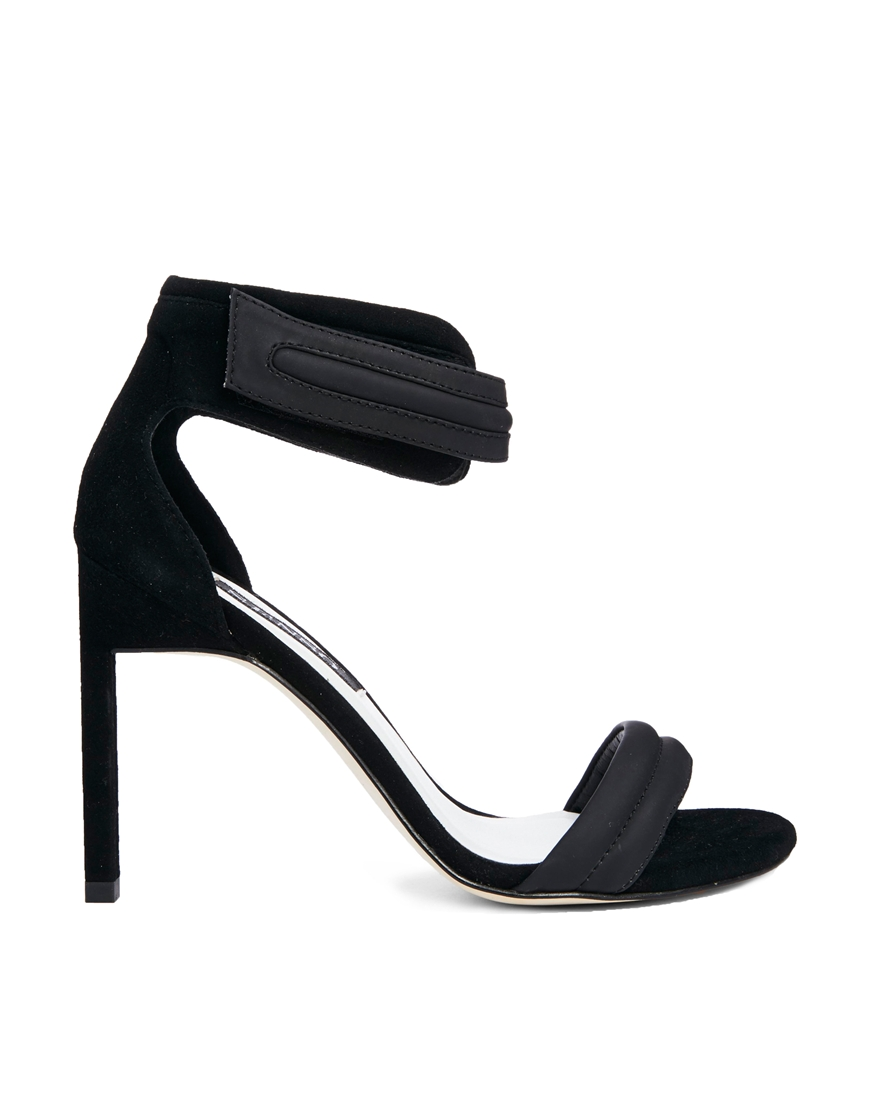 Senso Tiffany Black Heeled Sandals at asos.com