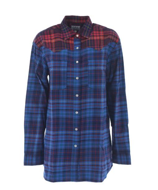 Tommy X GiGi HADID shirt checked shirt top