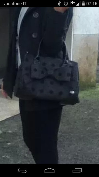 bag black bag pois