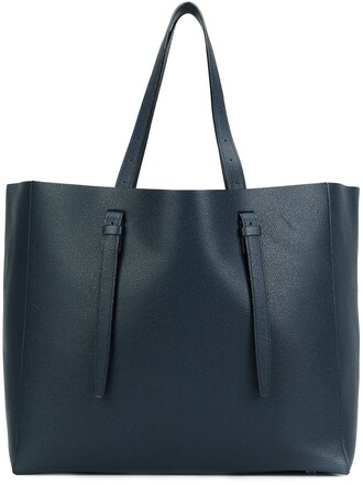 women blue bag