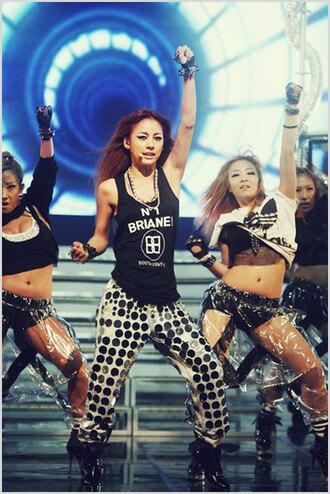 korea korean fashion denim k-pop rihanna black jeans hot loose lee hyori style girl woman loose pants high heels high heels hyori sleeveless mnet adidas brianel diva
