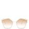 Cat-eye embellished sunglasses