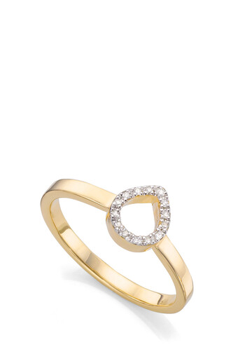 diamond ring mini women ring gold jewels