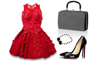 dress red dress red prom dress fashion wedding summer dress lace dress bag handbag classy classy dress pretty bra brand short dress retro style jewels jewelry boho chic chic party dress bags for women clothes