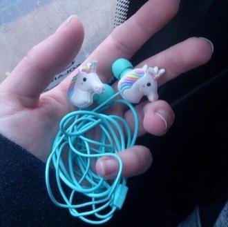 earphones unicorn