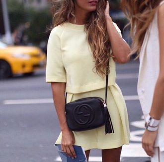 blouse set two-piece love it yellow yellow top yellow dress co.-ords love it so much bag