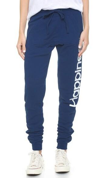 sweatpants navy pants