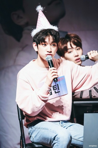 sweater kpop asian got7 ulzzang korean fashion cute pink jumper pastel oversized oversized sweater