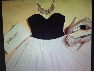 dress gold heels lutch short dress prom black dress white dress shoes jewels