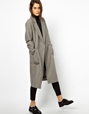 ASOS | ASOS – Mantel im Oversize-Stil mit gewickelter Vorderseite bei ASOS