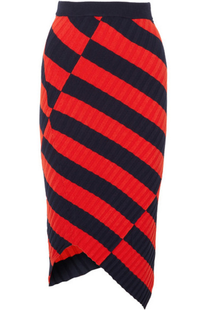 Altuzarra skirt midi skirt midi knit red
