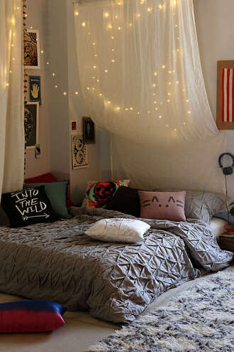 cute urban outfitters bedding thing pillow drape duvet cover