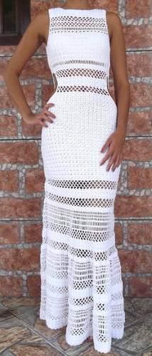 Vestido Em Crochet (modelo Usado Pela Sabrina Sato) - R$ 399,00 no MercadoLivre
