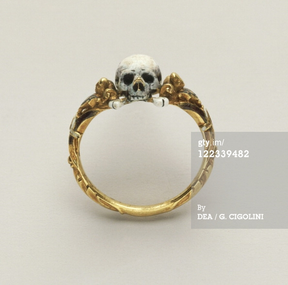 Goldsmiths Art Germany 17Th Century Memento Mori Skull Ring… News Photo | Getty Images NZ | 122339482